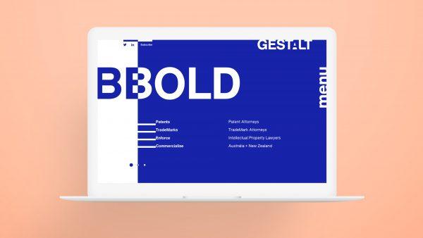 Gestalt responsive website