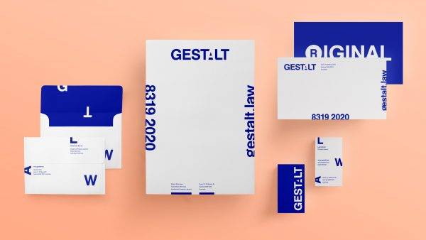Gestalt Law stationery suite