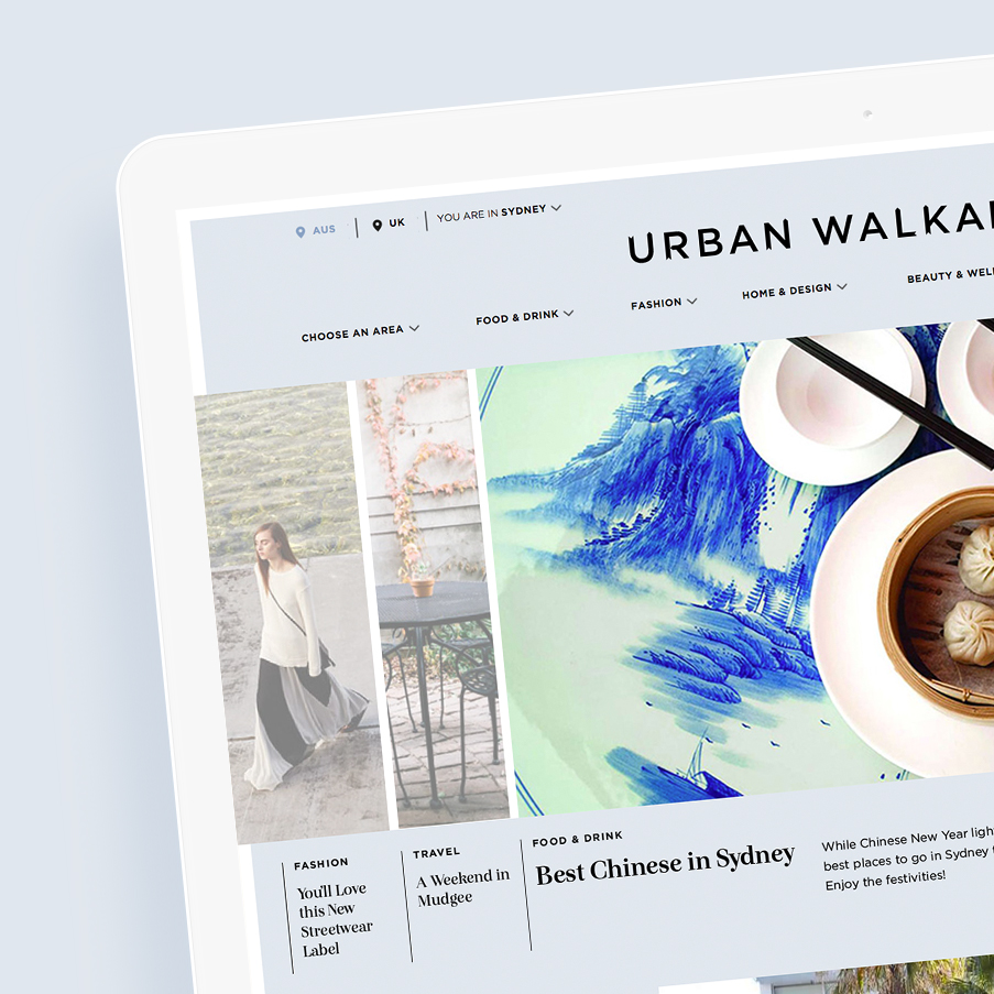 Urban Walkabout Publishing Platform