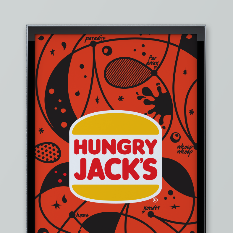 Hungry Jack's interior