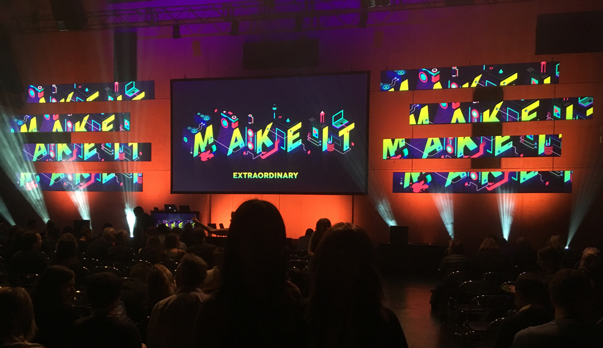 Adobe Make IT stage