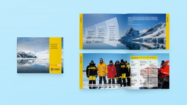 UNSW Publications | Antarctic research brochure