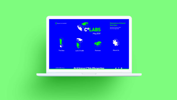 CoLABS Art & Science Microsite