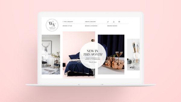 The Wedding Nest Responsive Ecommerce site