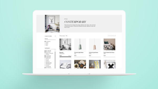 The Wedding Nest Responsive Ecommerce site